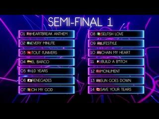 Summer Song 2021 1 Semi-Final Recap