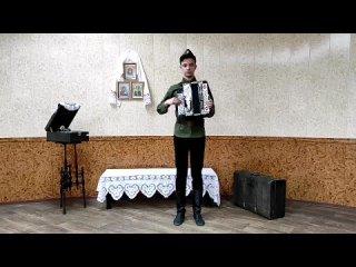 "Бердеев Султан 3 курс ""Рябина"" музыка А. Колкер, слова К. Рыжов"