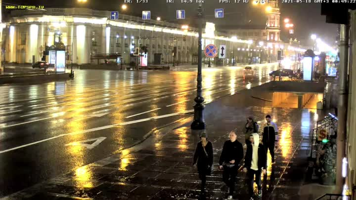 Смотрел на ютубе онлайн веб камеру Невского проспекта и неожиданно произошло ДТП. Время по видео 0:4...