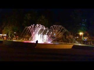 музыкальный фонтан в Пятигорске