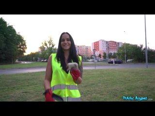 [PublicAgent] Jennifer Mendez - Litter Picker Fucked in the Woods