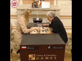 Чемпионка мира по шашкам Тамара Тансыккужина защитила свой титул, обыграв претендентку из Польши  Наталью Садовскую