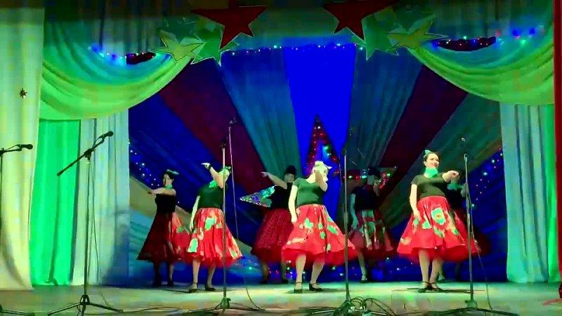 Танцевальный коллектив Девчата Танец Буги вуги