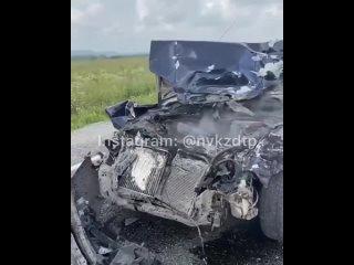 Авария на трассе Костенково