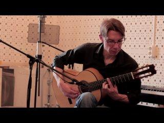 """Angel Barrios's """"Evocación"""" played by Andrey Kazakov on a 2021 Sergey Peskov"""
