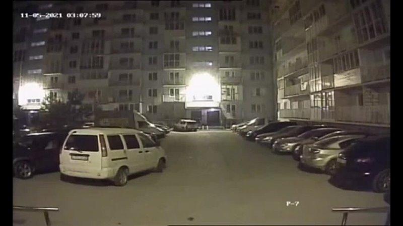 В Новосибирске подожгли автомобиль