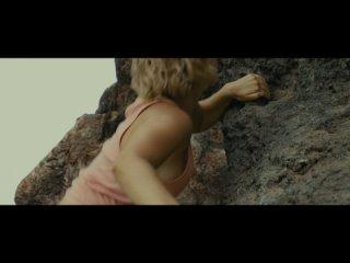 Old Movie Clip - Kara Tries to Climb the Wall