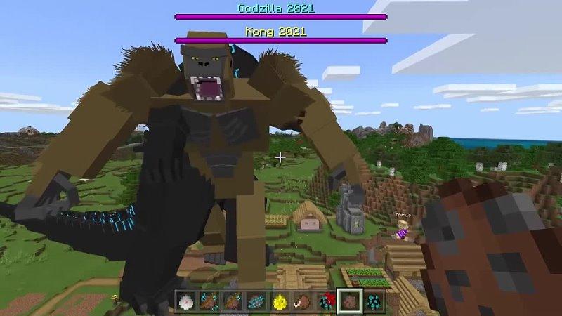 ЕвгенБро Майнкрафт но Годзилла против Конга СЛОМАННЫЙ Мод в Майнкрафте Троллинг Ловушка Minecraft