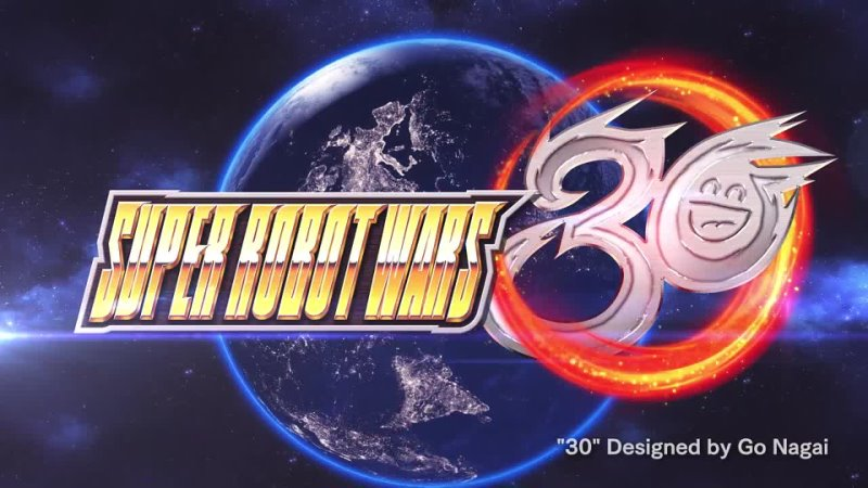 Super Robot Wars 30 First Trailer