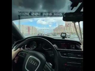Тюменский водитель показал, как лихачит на дорогах