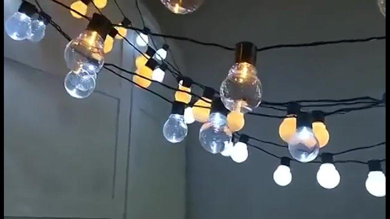 2021 уличное украшение для дома сказочный светильник цветное