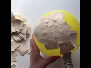 Вот что можно сделать своими руками из простого шарика!
