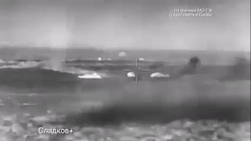 Russian robotic armoured vehicle destroys US backed terrorists in Syria