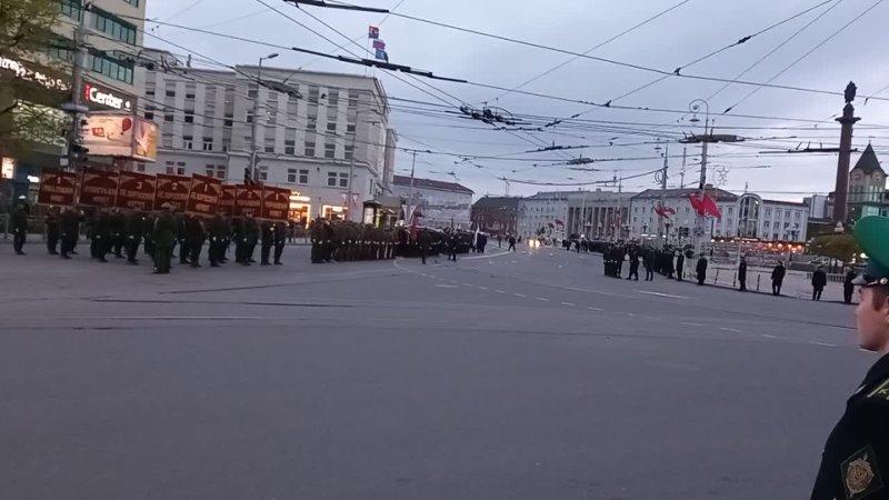 Калининград репетиция парада 3.5.2021 в рассказе Виктора Залыгалина