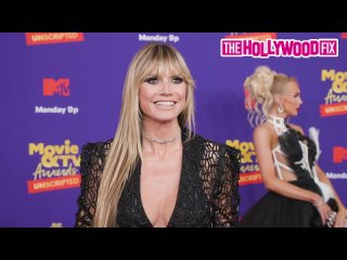 Heidi Klum Shockingly Reveals She Doesnt Watch TV At The 2021 MTV Movie TV Awards In Los Angeles