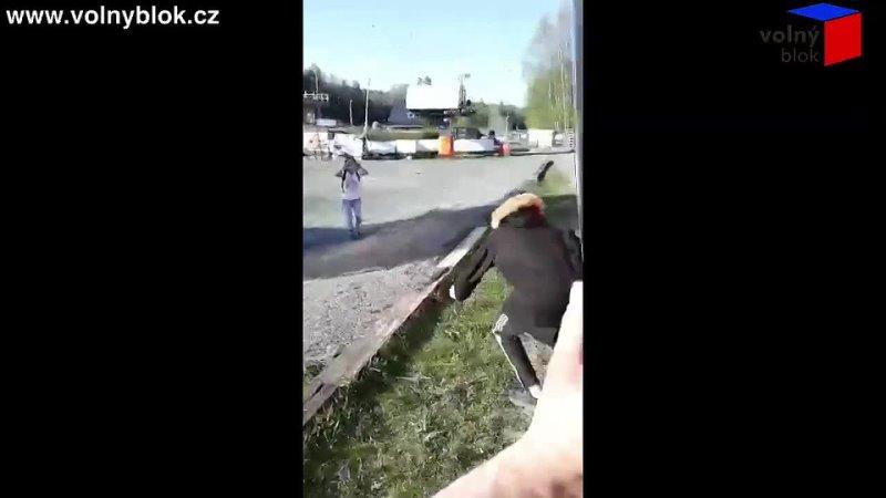 Zachycení Ruského agenta u volebního autobusu 😢