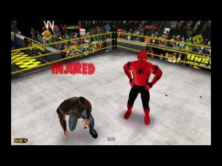 Человек-Паук против Росомахи против Нуб-Сайбота против Хидео Итами против Саб-Зиро против Скорпиона