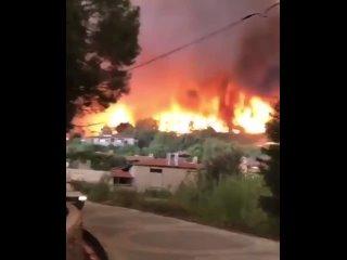 Анталия  - пожар