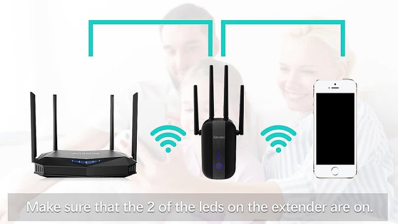 ANCATUS A2 1200Mbps 2 4G 5GHz Wireless Extender 802 11ac Wifi Repeater Powerful Wi Fi Router ​Long Range Wlan WiFi Amplifier