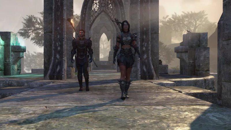 The Elder Scrolls Online - спутники в обновлении Blackwood