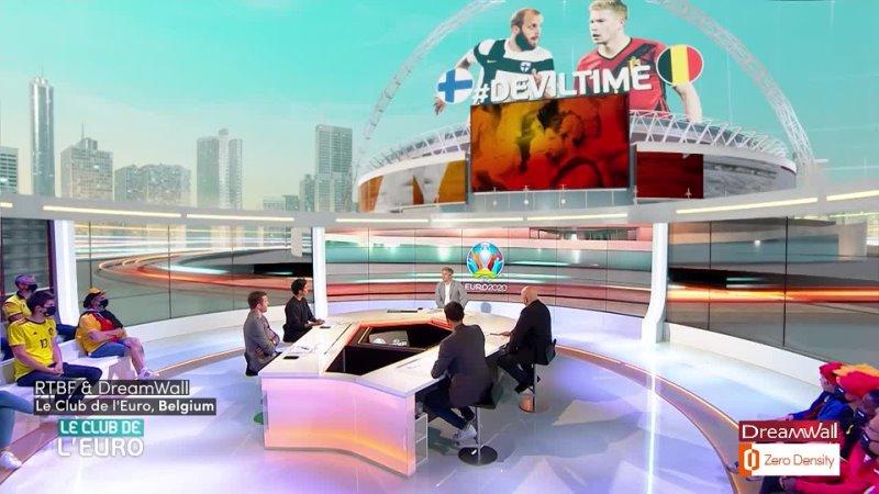 Бельгийский канал RTFB использовал движок Reality для EURO 2020