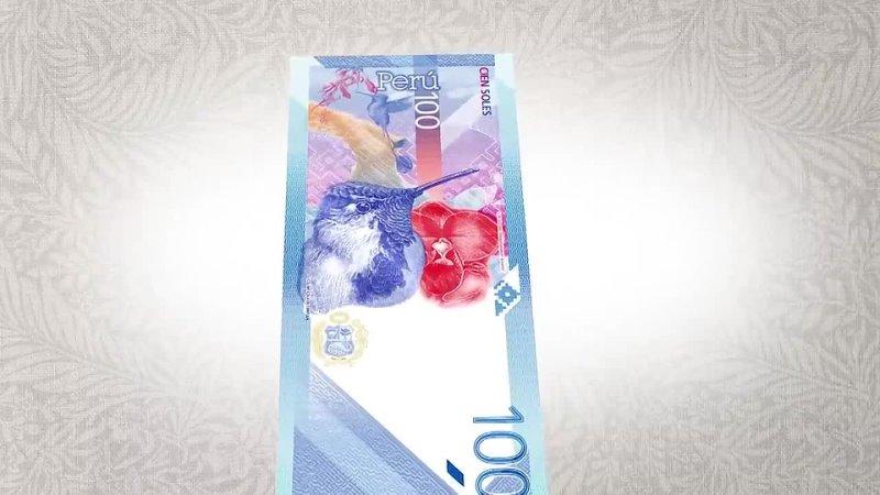 Nuevo billete de S 100