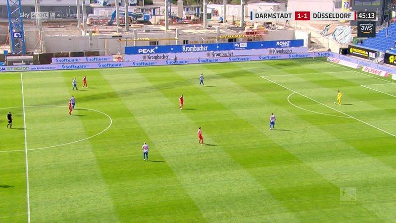 Чемпионат Германии 2020 21 Вторая Бундеслига 27 й тур Дармштадт Фортуна 2 тайм