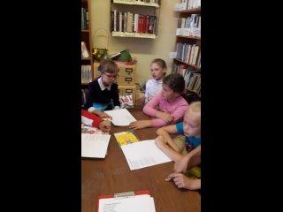Видео от Новоянгельская библиотека