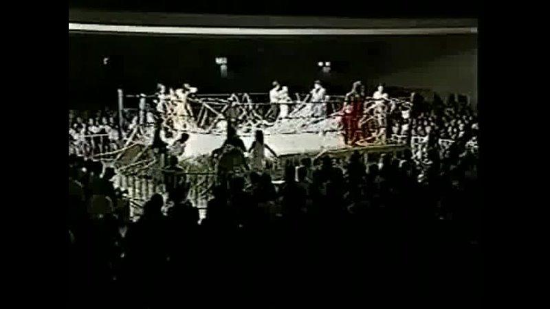 Manami Toyota Mima Shimoda vs Kaoru Ito Mariko Yoshida AJW 28 09 1996