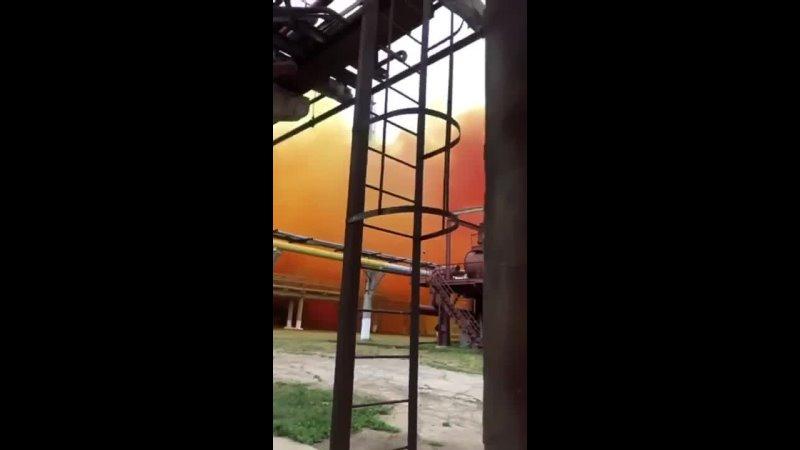 В Ровно на территории ЧАО Ривнеазот произошел взрыв