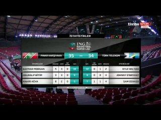 Pınar Karşıyaka - Türk Telekom 13.05.2021 @BasketbolArsivi