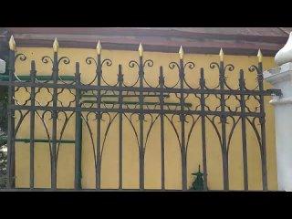 Евпатория. Храм св. Ильи (съёмка с окна автобуса)