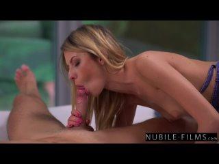 Sweet And Sensual Rebecca Volpetti Has Her Petite Pussy Pleasured S34 E20