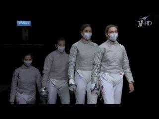 В восьмой день Олимпиады российские спортсмены завоевали командное золото в женской сабле и две медали в стрельбе