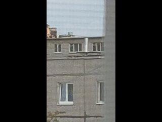 Дети на крыше Навашино