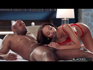 Доминирование над связанной любовницей. (HD 1080 Blacked, Interracial, Blonde, Hardcore)