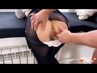 "Sweetie Fox - ""sex after school""; oral sex; blowjob; handjob; pussy; anus; stockings; (ManyVids) [Porno   Original]"