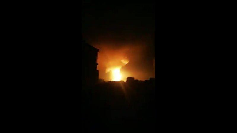 Удары ВВС Израиля по территории сектора Газа