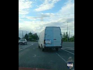 Объездная дорога.Видео снимал пассажир.