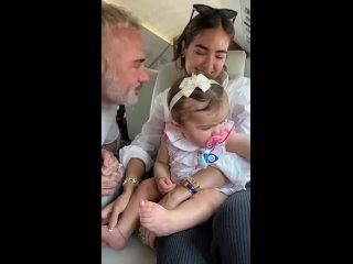 Джанлука Вакки с дочкой