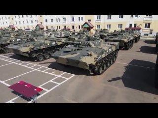Церемония вручения комплекта БМД-4М и БТР-МДМ в Ивановском соединении ВДВ.