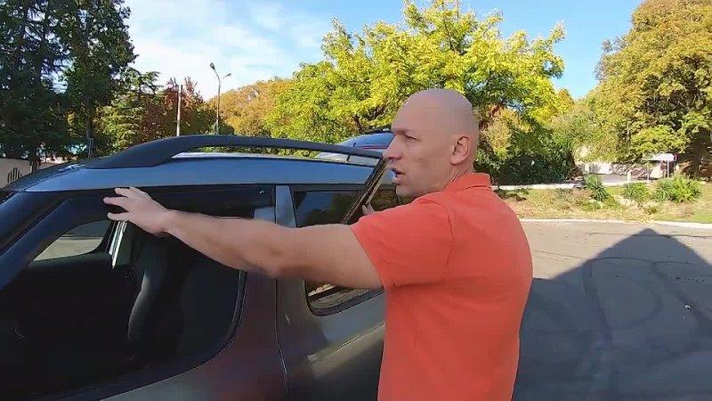 УСТАНОВКА ДЕФЛЕКТОРОВ ОКОН на ШКОДА ЙЕТИ Зачем нужны ветровики на окна Cobra Tuning
