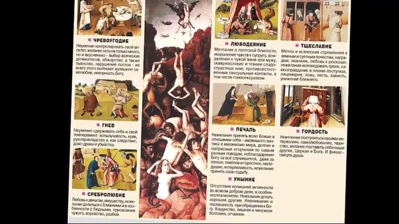 Смертные грехи христианского Бога mp4