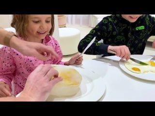 [FedorUK Vlogs] Холодное или Горячее челлендж от Макса и Кати