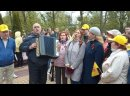 Песня у памятника разведчикам в Калининграде. 9.5.21