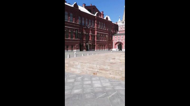 Красная площадь Москва