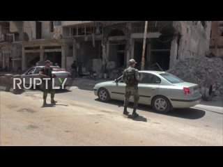 Daraa: SAA sets up checkpoints to help enforce reconciliation agreements