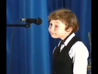 Когда не выучил (реакция мальчика)