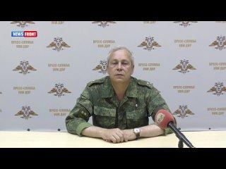 Подразделения НМ ДНР открыли ответный огонь по огневым точкам  украинских боевиков