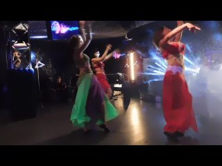 Восточный танец под соло табла. Постановка Анны Баженовой